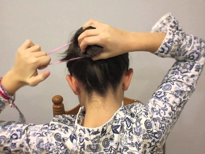 Peinado fácil para fiestas