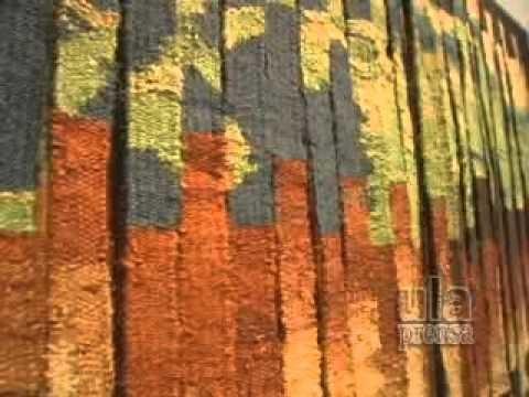 Tapices y colchas de los talleres de producción artesanal ULA