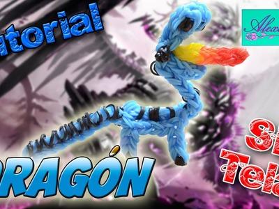 ♥ Tutorial: Dragón en 3D de gomitas (sin telar) ♥