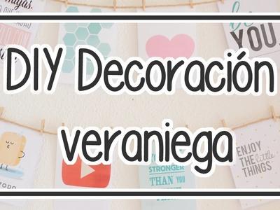 3 Ideas para decorar tu cuarto en verano