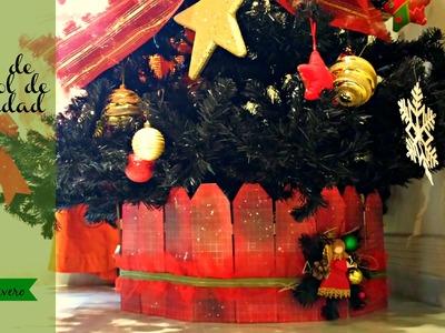 Adorno de Navidad, Pie de Arbol