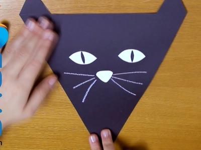Banderillas de decoración para Halloween (2ª Parte - Gato Negro)