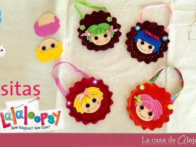 Bolsitas de Lalaloopsy -  DIY Lalaloopsy's little bags