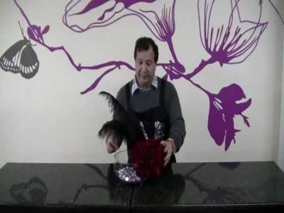 Como elaborar una esfera de rosas rojas (parte 3)