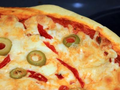 Como hacer Masa de Pizza al Microondas