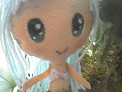 Como hacer una muñeca de fieltro estilo Anime Kawaii
