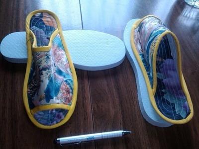 Cómo hacer unas pantuflas ó zapatillas con ropa vieja