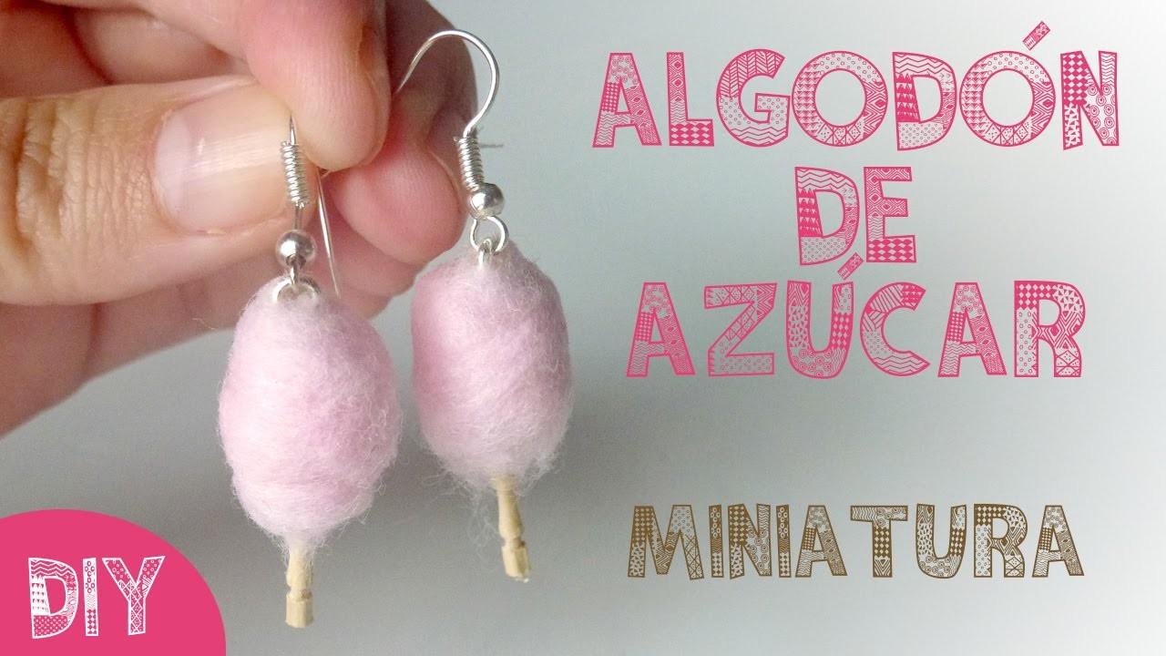 DIY ALGODÓN DE AZÚCAR EN MINIATURA ♥ Qué cositas