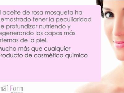 El aceite de rosa mosqueta para la piel