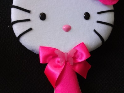 Espejo hello kitty peluche
