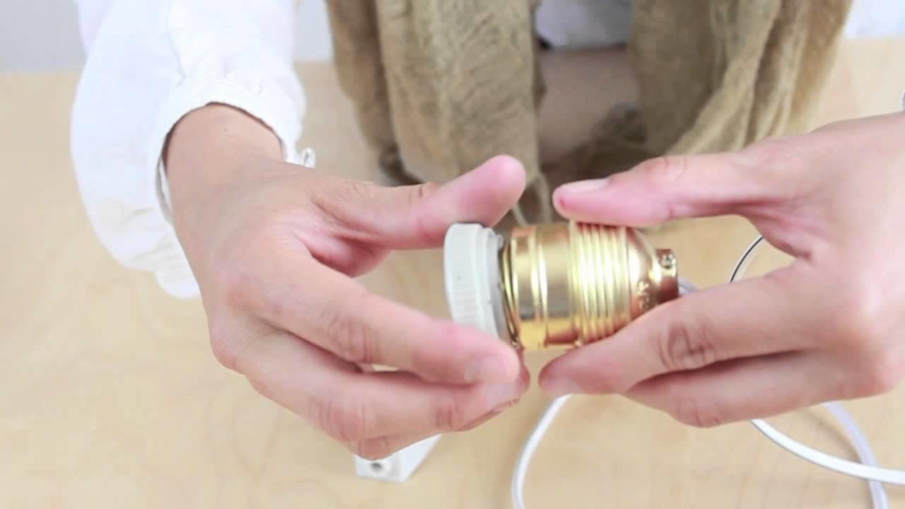 Haz tu propia lampara vintage con un tarro de cristal