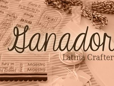 Los sellos son para .  ( GANADOR Sorteo Latina Crafter )
