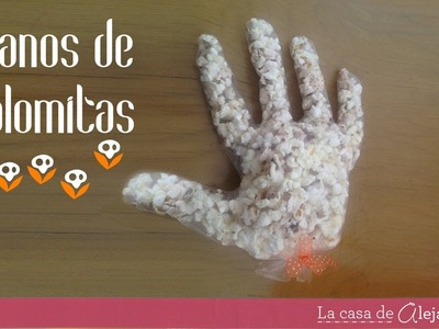 Manos de palomitas - DIY Popcorn hands