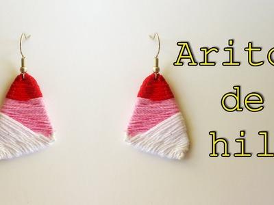 Manualidades: Aros de Hilo - Manualidades para todos