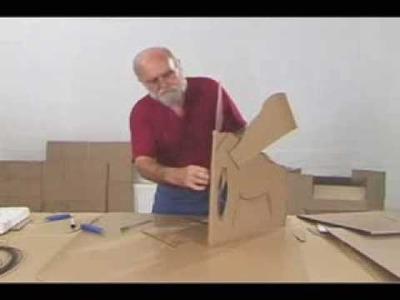 Manualidades Originales, hacer un Elefante de cartón