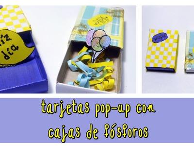Tarjetas de felicitación o Cajas pop-up para regalar (Día   del padre 2015.cumpleaños)