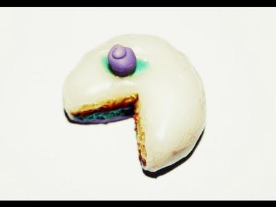 Tarta Arcoiris en miniatura - Rainbow cake (Porcelana fría)