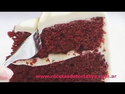 Torta Red Velvet - Torta Terciopelo Rojo - Recetas de Tortas YA!