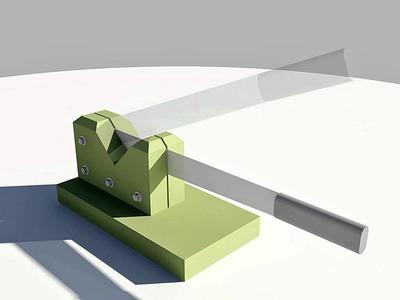 Trituradora manual para huertos y jardines pequeños