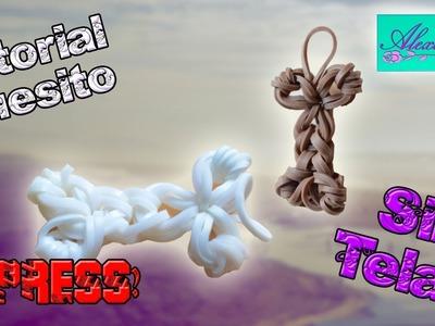 ♥ Tutorial: Huesito de gomitas (sin telar) ♥
