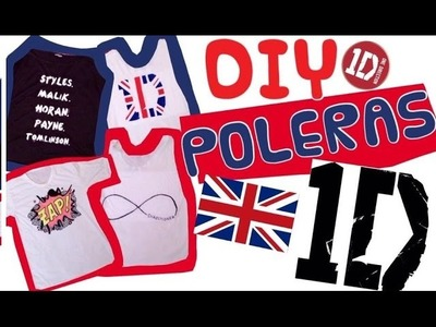 #WWAT1: DIY Poleras ONE DIRECTION!
