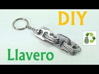 161. DIY LLAVERO [FACIL] (RECICLAJE DE ANILLAS)