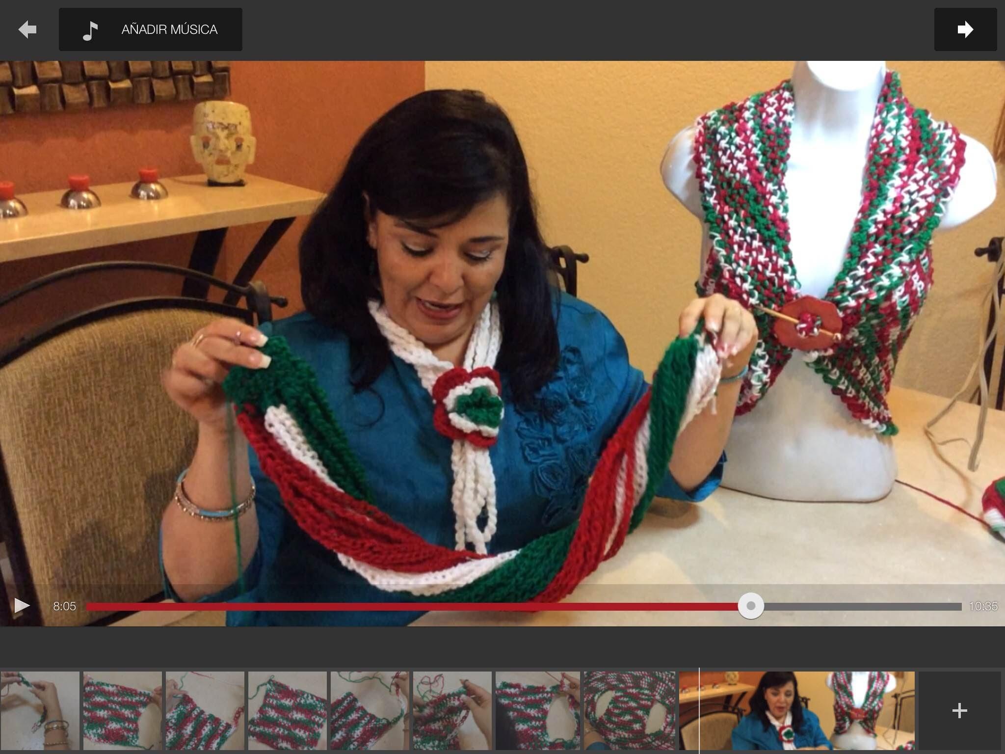 Chaleco mexicano - Tejiendo con Laura Cepeda