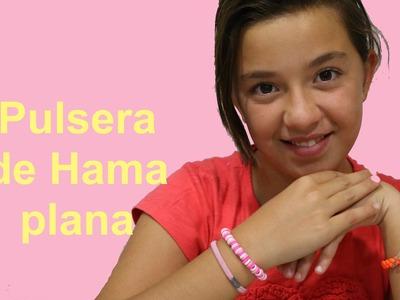 Cómo hacer pulsera con Hama planos