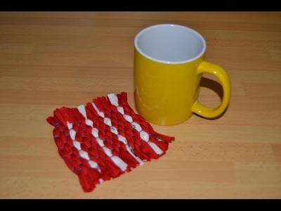 Cómo hacer un posavasos de trapillo | facilisimo.com