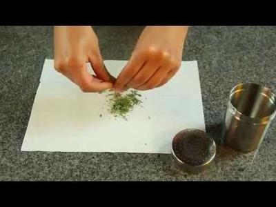 Cómo secar hierbas en el microhondas