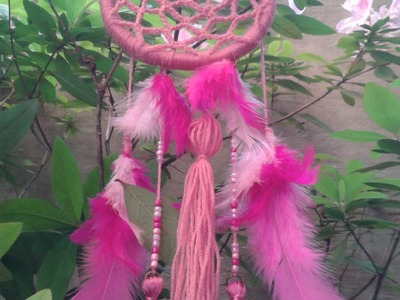 DIY:Como hacer un atrapasueños tejido.How to make a woven dream catcher