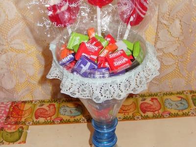 DIY Cómo hacer un dulcero lindo