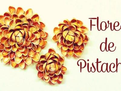 DIY : Flores De Pistachos - Brotes De Creatividad