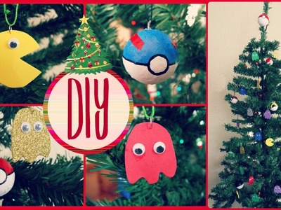 DIY Navidad. Adornos frikis para el árbol de navidad