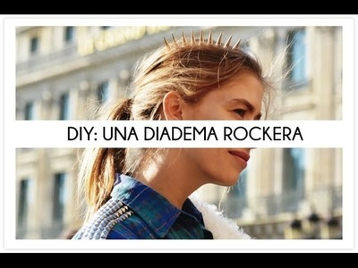DIY Una diadema rockera
