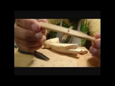 Mecanismo para construir un pie para una marioneta