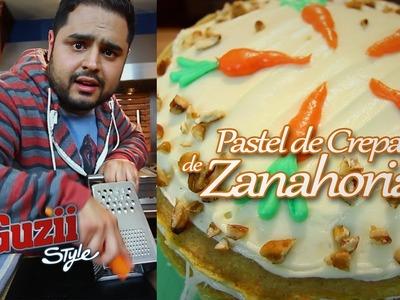 Pastel de Crepas de Zanahoria - Guzii Style