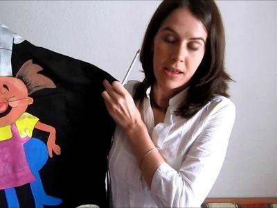 Pintar en tela 3ª parte: Regalitos y trucos
