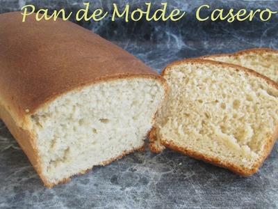 Receta: Pan De Molde Casero (Muy Facil) - Silvana Cocina Y Manualidades