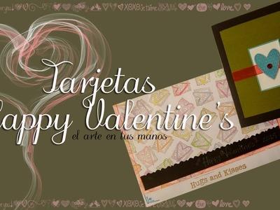 """Tarjetas Happy Valentine's Day  """"Colección Amor y Amistad"""""""