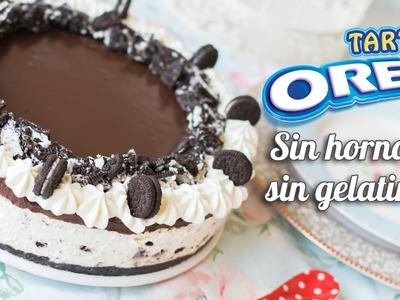 Tarta Oreo | Sin horno, sin gelatina y sin complicaciones