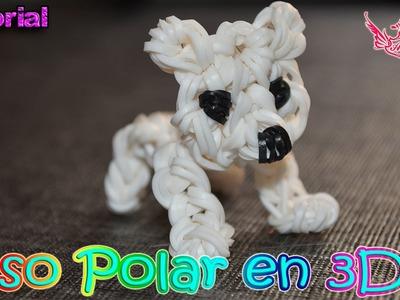 ♥ Tutorial: Oso polar en 3D (sin telar) ♥