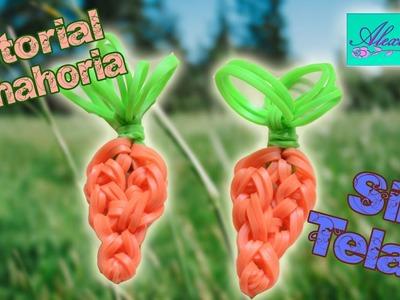 ♥ Tutorial: Zanahoria de gomitas (sin telar) ♥
