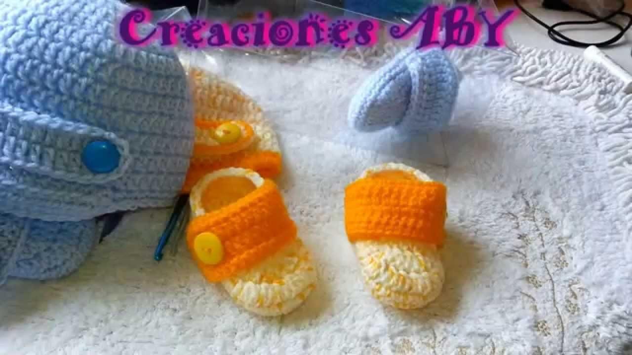 Zapatitos Tipo Botin y Gorro Para Bebes TALLA 3 MESES