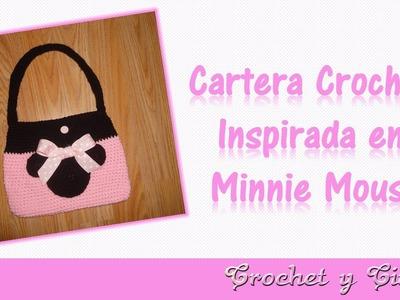 Cartera crochet (ganchillo) inspirada en Minnie Mouse – Parte 1