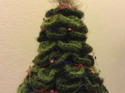 Cómo tejer un árbol de navidad - tejiendo con Laura Cepeda