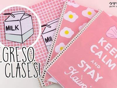 Decorar cuadernos Kawaii | REGRESO A CLASES