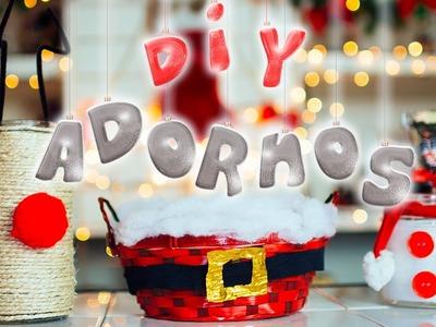 DIY: ADORNOS.DECORACIONES FÁCILES PARA NAVIDAD #NavidadConJime ♥ Jimena Aguilar
