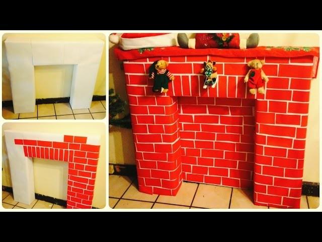 DIY Chimenea Navideña ♥ #MilinChristmas