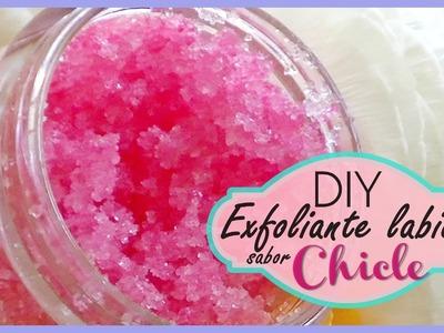 DIY - Exfoliante labial sabor a CHICLE